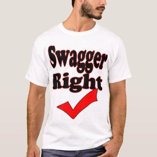 Höger Kontroll-Muskel för Swagger skjorta (3) Tee Shirt