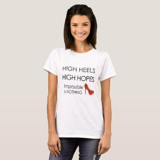 Högklackar - kickhopp tee shirts