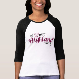 Höglands- ponny tee shirt