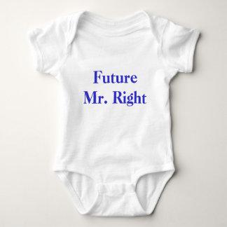 Högra framtida Herr T-shirts