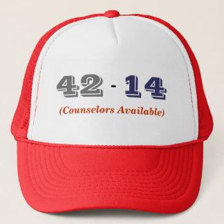 Högskolafotboll görar poäng hatten (Alabama lag) Truckerkeps