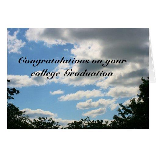 högskolastudenten hälsnings kort