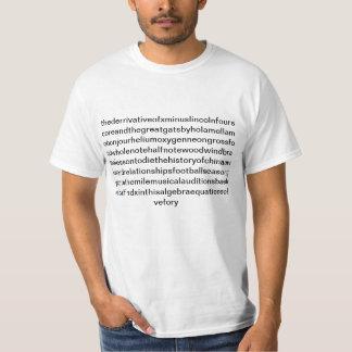 Högstadiet är den försvårade skjortan t shirt