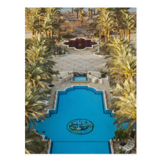Högstämt beskåda simbassängen för det Herods Vykort