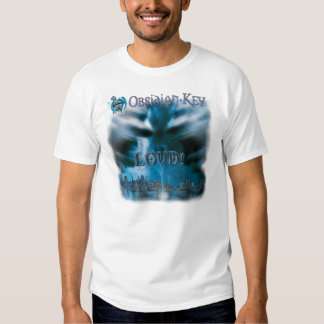 HÖGT! album täcker klar konst - Obsidiannyckel - T Shirts