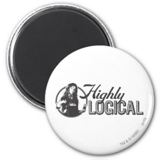 Högt logiskt magnet rund 5.7 cm