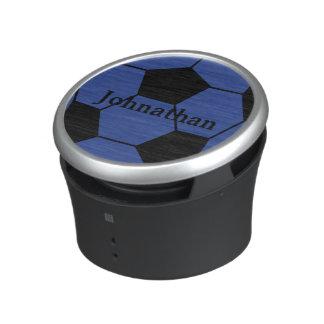 Högtalare för Monogram för blåttfotbollboll