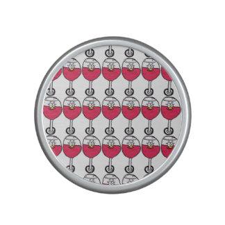 Högtalare för pilvinexponeringsglas