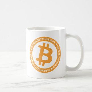 Högvärdig Bitcoin mugg