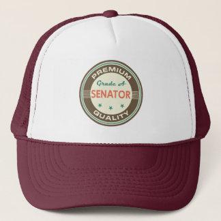 Högvärdig kvalitets- hatt för Senator (rolig) gåva Keps