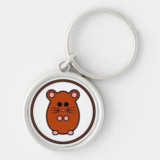 """Högvärdig nyckelring för Hamster""""myham"""""""