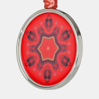 Högvärdig rundaprydnad - Mandala Julgransprydnad Metall