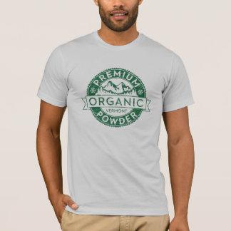 Högvärdiga organiska Vermont pudrar T-tröja T-shirt