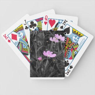 Högväxt rosa vallmor spelkort