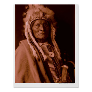 Högväxt Whiteman - Cheyenne Poster