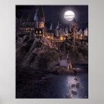 Hogwarts fartyg som rockerar affisch