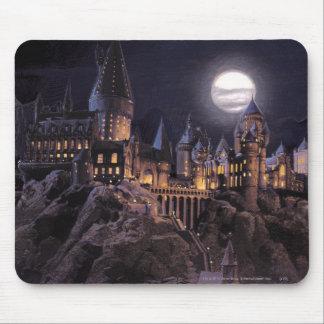 Hogwarts fartyg som rockerar musmatta