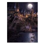 Hogwarts fartyg som rockerar vykort