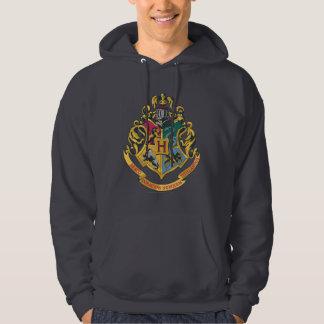 Hogwarts fyra husvapensköld sweatshirt med luva