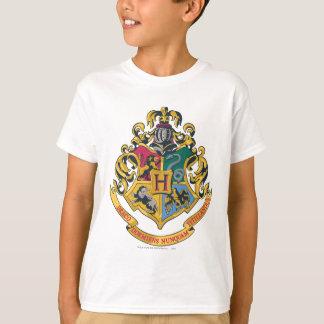 Hogwarts fyra husvapensköld tee shirts