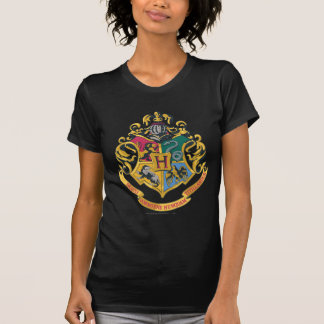 Hogwarts fyra husvapensköld tshirts
