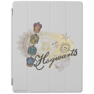 Hogwarts logotyp och professorer 2 iPad skydd
