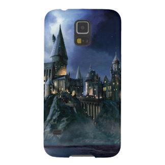 Hogwarts slott på natten galaxy s5 fodral