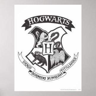 Hogwarts vapensköld 2 poster
