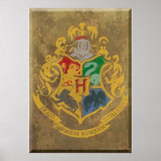 Hogwarts vapensköld HPE6 Poster