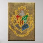 Hogwarts vapensköld HPE6 Posters