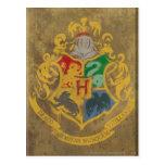 Hogwarts vapensköld HPE6 Vykort