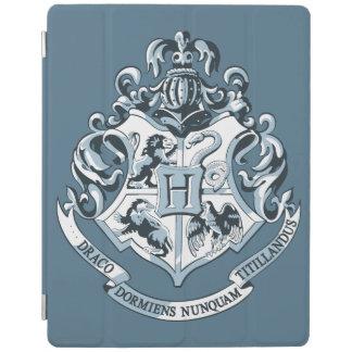 Hogwarts vapensköldblått iPad skydd