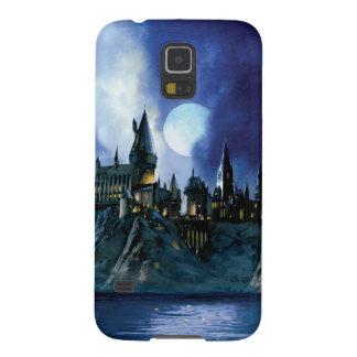 Hogwarts vid månsken galaxy s5 fodral