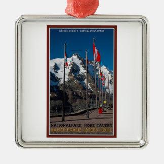 Hohe Tauern - Kaiser Franz Josef Hohe Julgransprydnad Metall