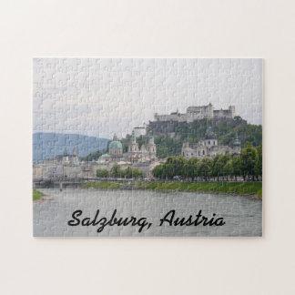 Hohensalzburg slott, Salzburg, Österrike pussel