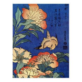 "Hokusais ""blomma vykort"