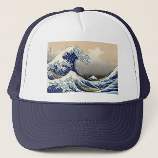 "Hokusais ""vinkar underbaren av den Kanagawa"" Keps"