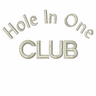 """""""Hole in oneklubb """", Broderad Luvtröja"""