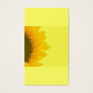 Holistic arbeta i trädgården för | solros visitkort