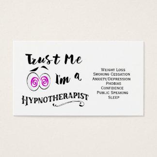 Holistic Hypnotherapy visitkorthypnotherapist Visitkort