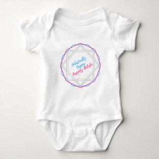 Holistiskt lycklig. Lyckligt Holistic. Slogan. T-shirt