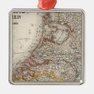 Holland Belgien, Luxembourg Julgransprydnad Metall