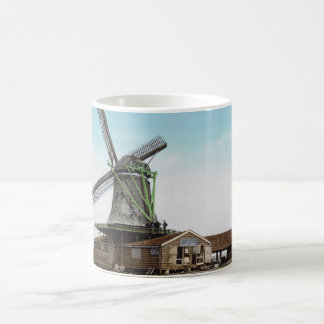 Holland kvarn kaffemugg