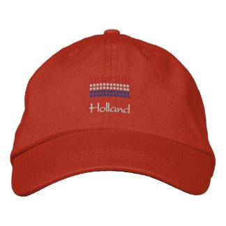 Holland lock - holländsk flaggahatt broderad keps