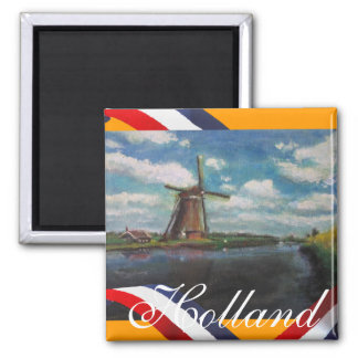 Holland mal kylmagneten magnet