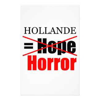 Hollande inte hopp = fasa - brevpapper