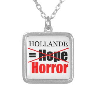 Hollande inte hopp = fasa!!!!!!!!!!! halsband med fyrkantigt hängsmycke