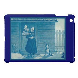 Holländsk design för vintage, 1905, familj hemma iPad mini mobil skydd