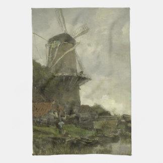 Holländsk kvarn, Jacob Maris Kökshandduk