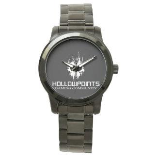 Hollowpoints rostfritt stålarmband armbandsur